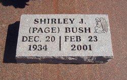 Shirley J. <i>Page</i> Bush