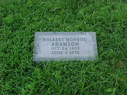 Holbert Monroe Adamson