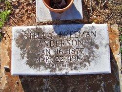 Stella <i>Freeman</i> Anderson
