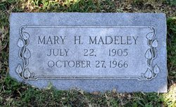 Willie Mary <i>Hamilton</i> Madeley
