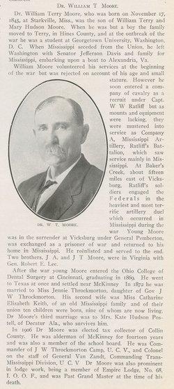 Dr William T. Moore