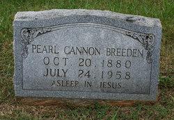 Pearl <i>Cannon</i> Breeden