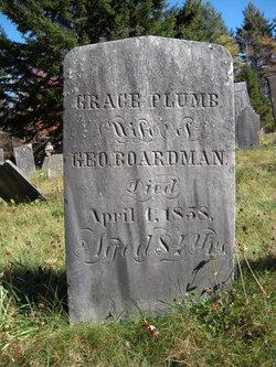 Grace <i>Plumb</i> Boardman