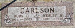 Ruby Caroline <i>Brink</i> Carlson