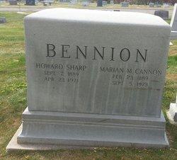 Marian Morris <i>Cannon</i> Bennion