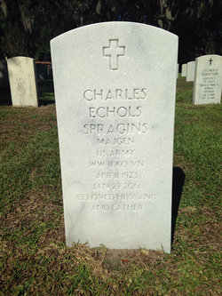 Gen Charles Pete Spragins