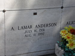 A. Lamar Anderson