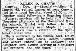 Allen O Chavis
