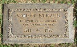 Violet Elizabeth <i>Webb</i> Straub