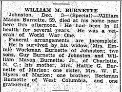 William Mason Burnette, Sr