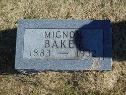 Mignon Ruth <i>Meredith</i> Baker