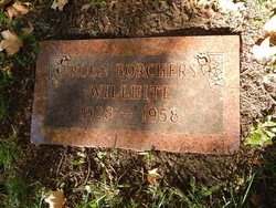 Roen Virginia <i>Borchers</i> Willhite