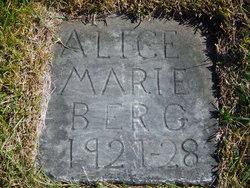 Alice Marie Berg