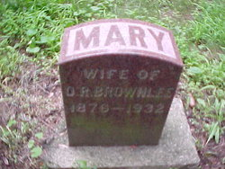 Mary <i>Crane</i> Brownlee