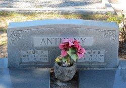 Clara Bell <i>Brown</i> Anthony