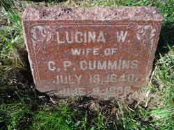 Lucina W <i>Allard</i> Cummins