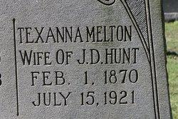 Texanna Melton <i>Melton</i> Hunt