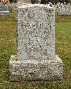 Minnie <i>Curtis</i> Barden