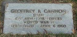 Geoffrey Riter Cannon