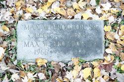 Max W. Proctor, Jr
