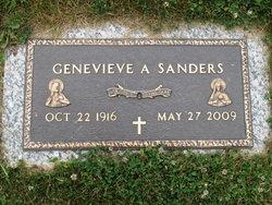 Genevieve A. <i>Pohlman</i> Sanders