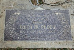 Edith Mozelle <i>Lorance</i> Peddy