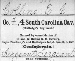Sgt Edward C. Collins