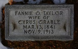 Frances Oldham Fannie <i>Taylor</i> Grable