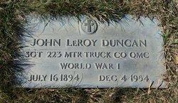 John LeRoy Jack Duncan