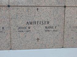 Mary Elizabeth Maria <i>Dillon</i> Amheiser