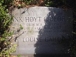 Frank Hoyt Gailor
