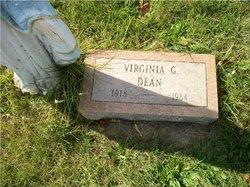 Virginia G <i>Zick</i> Dean