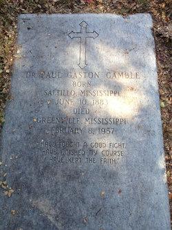 Dr Paul Gaston Gamble