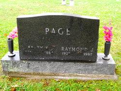 Raymond J Page