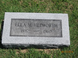 Ella M. Hepworth