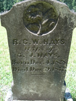 Ruth Cornelia Washington <i>Ross</i> Hays