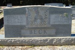 Bertha Melton <i>Smith</i> Beck