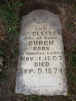 Ann Wilson <i>McClellan</i> Burch