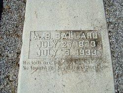 Ambrose B Ballard
