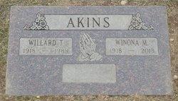 Willard T Akins