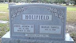 Joseph Andrew Holifield, III