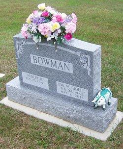 Ida Dolle <i>Williams</i> Bowman
