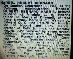 Hubert Bernard Harris