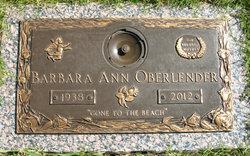 Barbara Ann <i>Wilder</i> Oberlender