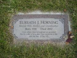 Eureath Josclyn <i>Gillispie</i> Horning