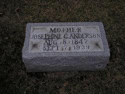 Josephine Caroline <i>Benson</i> Anderson