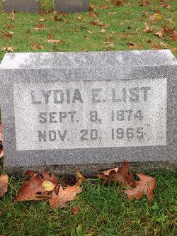 Lydia E. List
