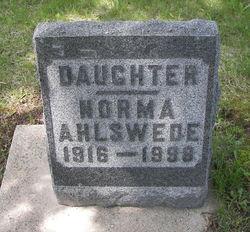 Norma E Ahlswede
