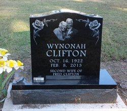 Wynonah <i>Wilder</i> Clifton