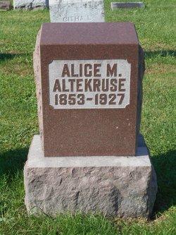 Alice Martha <i>White</i> Altekruse
